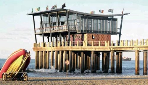 MOYOS - South Africa's first building on a pier