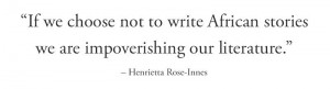 AFRICAN WRITERS QUOTE